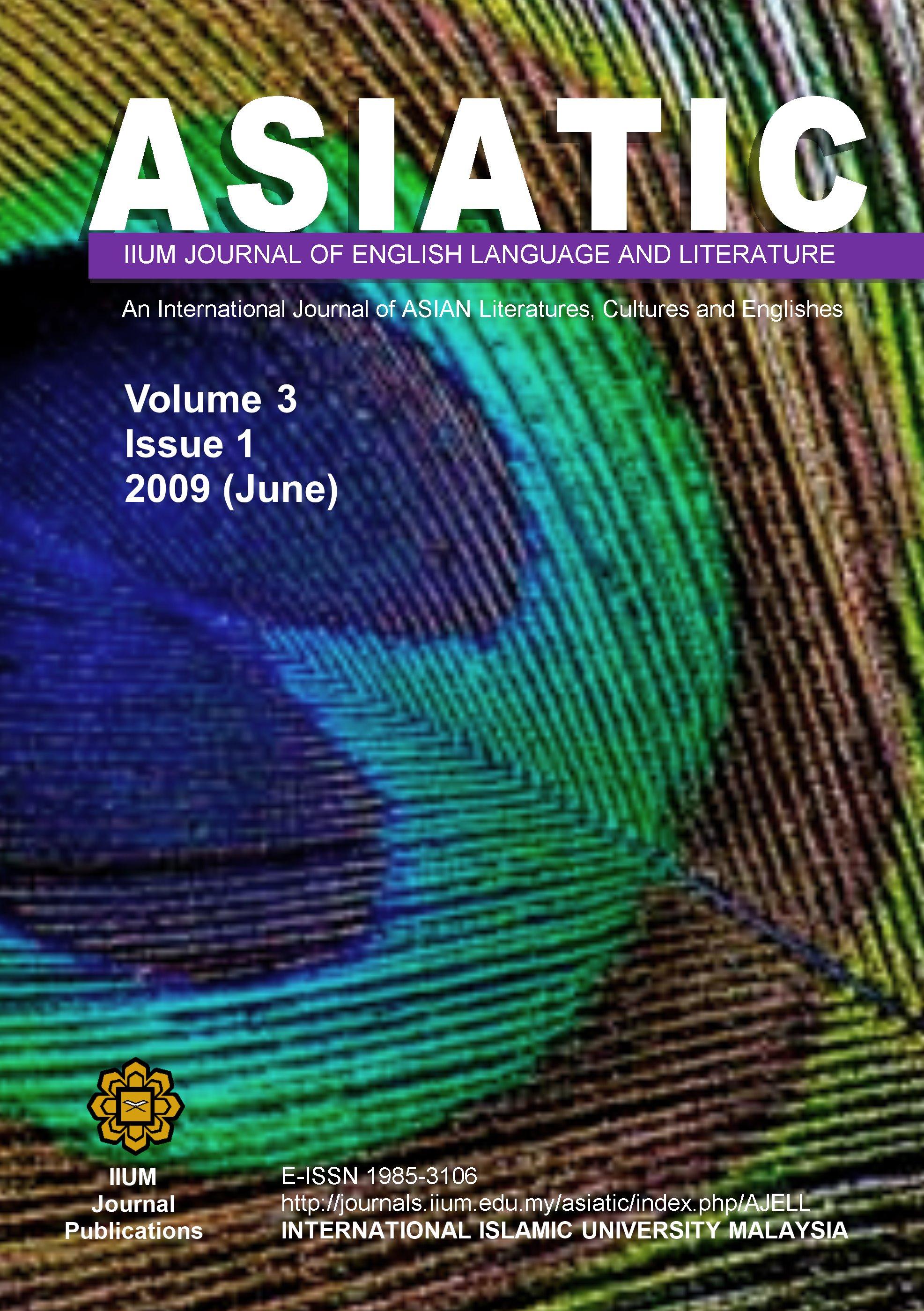 View Vol. 3 No. 1 (2009): June