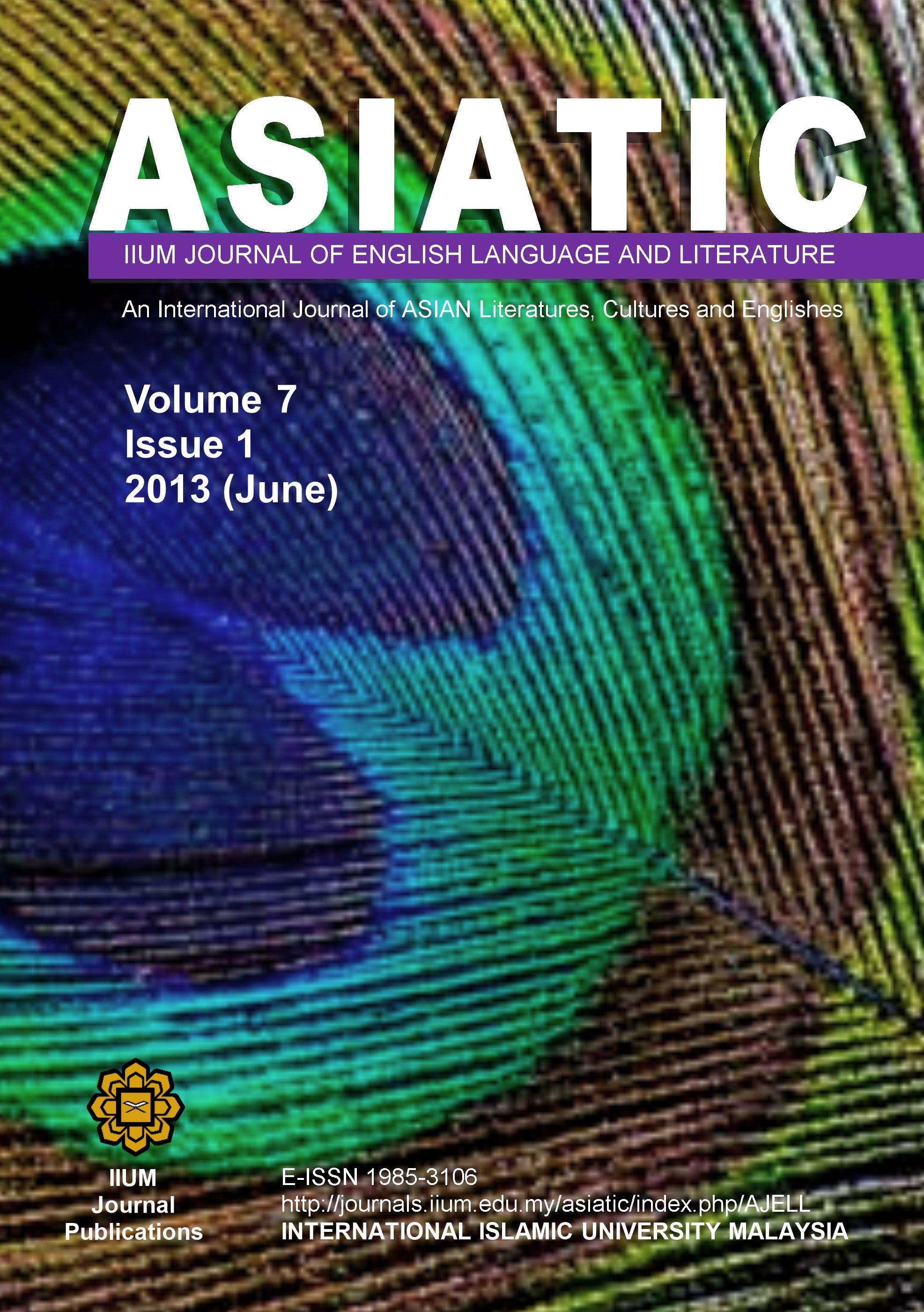 View Vol. 7 No. 1 (2013): June