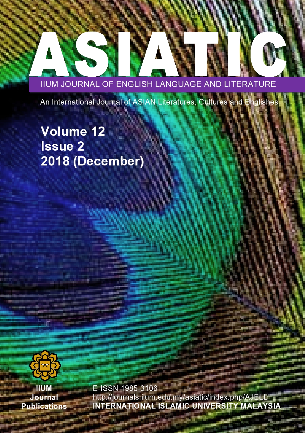 View Vol. 12 No. 2 (2018): December