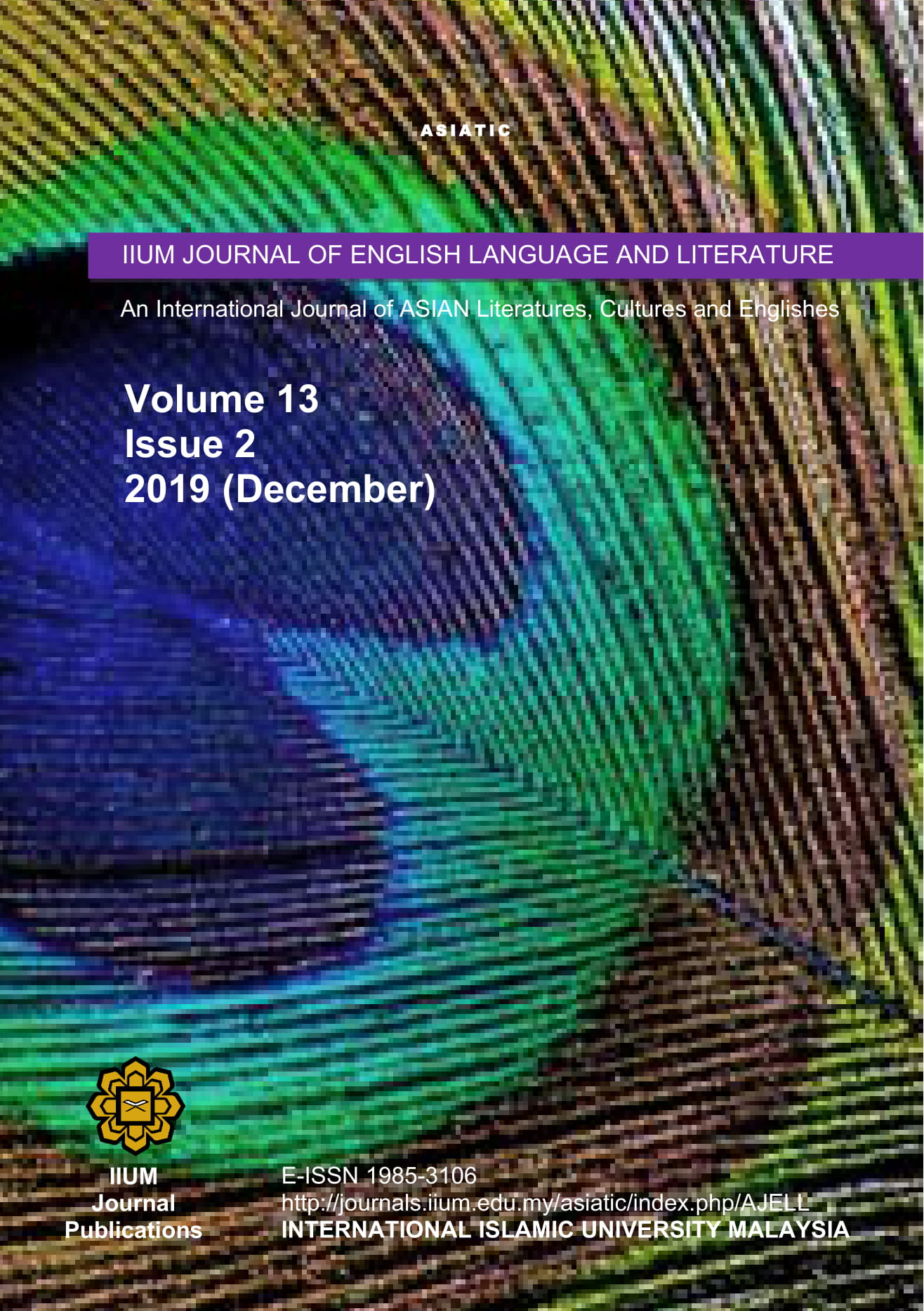 View Vol. 13 No. 2 (2019): December