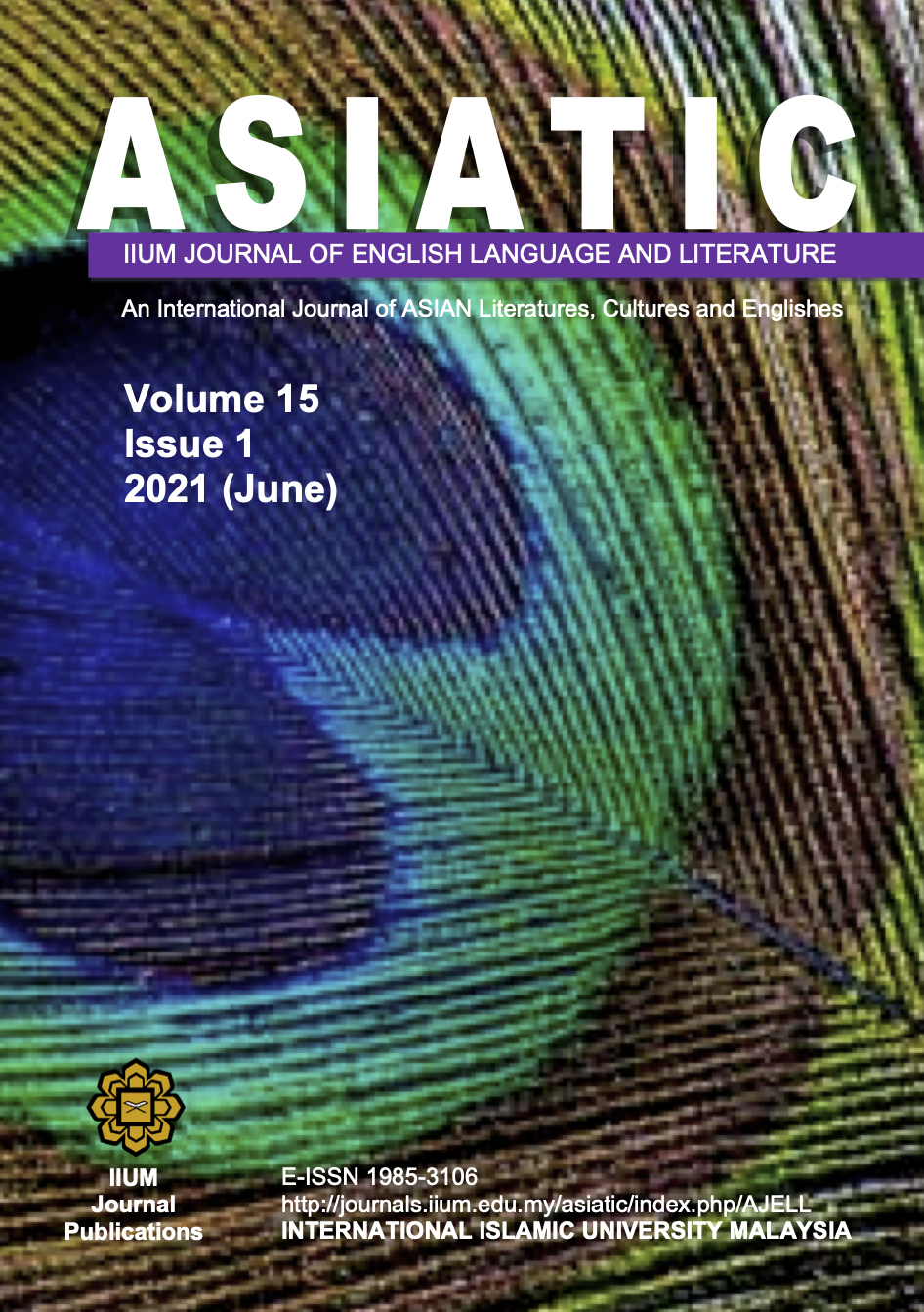 View Vol. 15 No. 1 (2021): Special Issue on Digital Trends in Language and Literature: Asia and the 21st Century