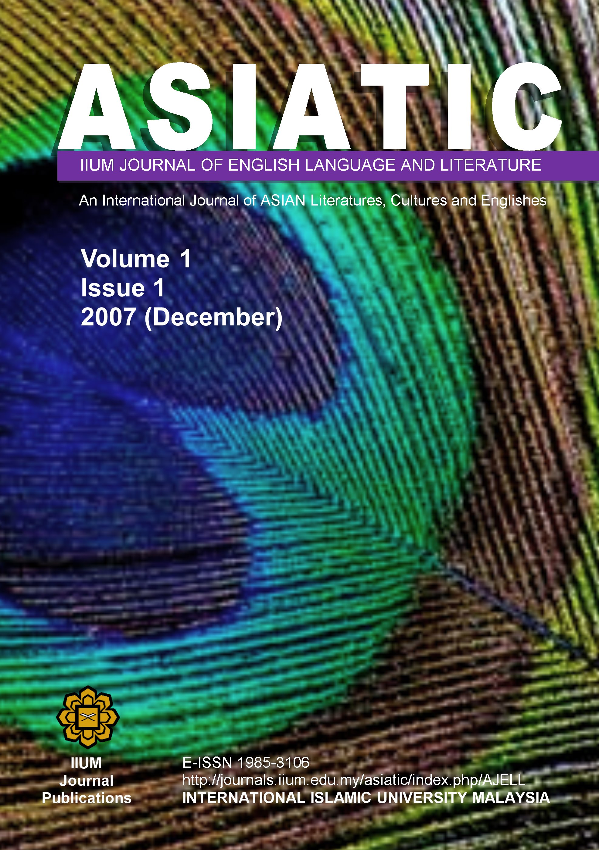 View Vol. 1 No. 1 (2007): December