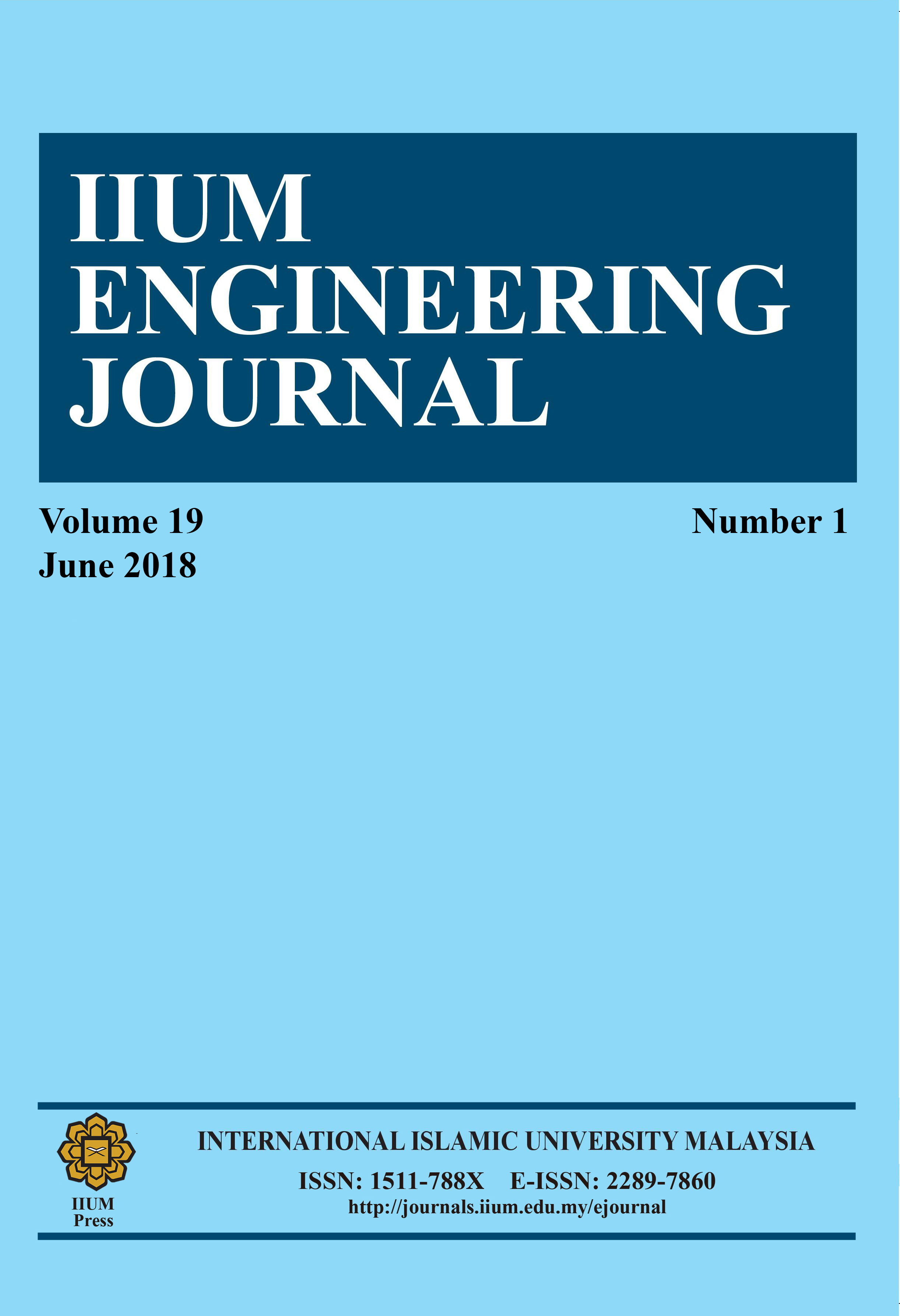 IIUM Engineering Journal, Vol.19 Is. 1, June 2018,