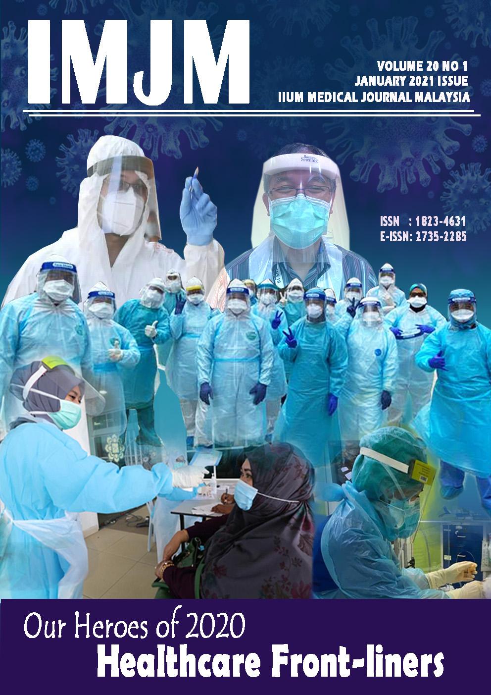 View Vol. 20 No. 1 (2021): IIUM Medical Journal Malaysia - January 2021