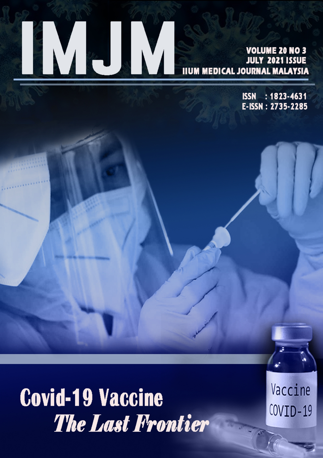 View Vol. 20 No. 3 (2021): IIUM Medical Journal Malaysia - July 2021
