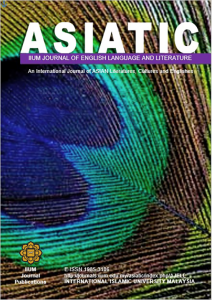 Asiatic: IIUM Journal of English Language and Literature